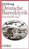 Deutsche Barocklyrik. Eine Einführung
