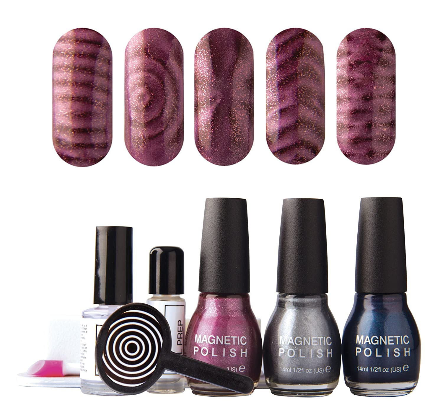 Rio Magnetic Magic Nail Polish Set: Amazon.co.uk: Beauty