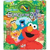 Sesame Street: Elmo at the Zoo (1) (Open Door Book)