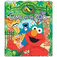 Sesame Street: Elmo at the Zoo (Open Door Book, Band 1)