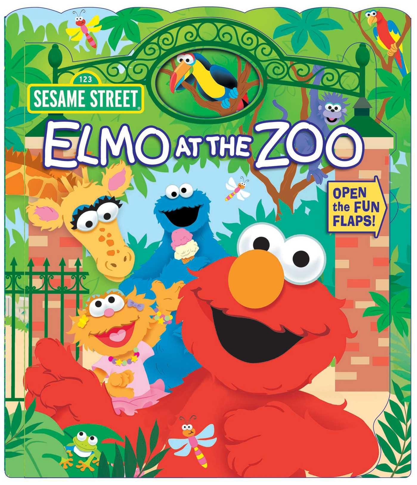 Sesame Street Elmo Open Door