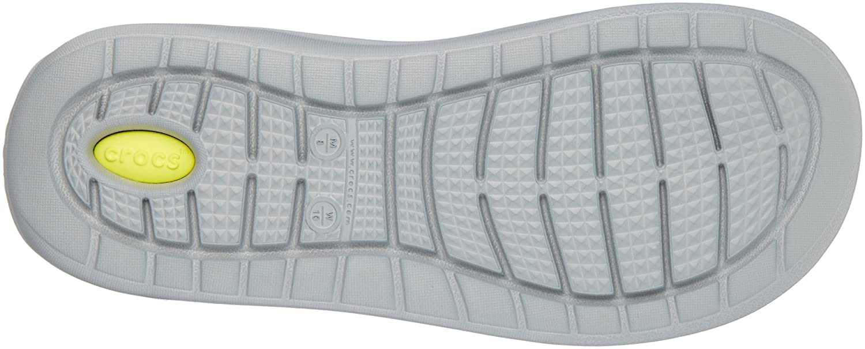 Crocs / LiteRide Slide Slate Grau / Crocs Light Grau 4d32e0