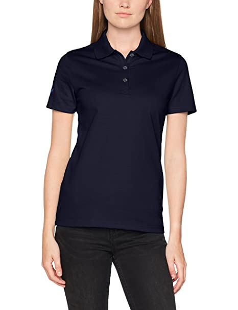 Trigema Rollkragen-Shirt - Camiseta de deporte de manga larga para mujer, color (weiß), talla XL