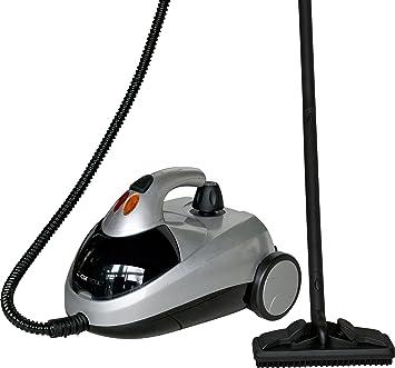 Clatronic DR 3280 - Vaporeta limpiador al vapor (4 bares), 10 accesorios, 1500W, color plateado: Amazon.es: Hogar