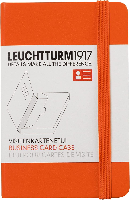 Leuchtturm1917 Business Card Holder Orange