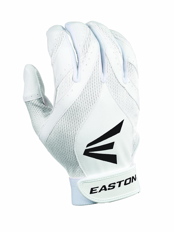 Easton Synergy II Fastpitchバッティング手袋 B008KZW62M Large|ホワイト/ホワイト ホワイト/ホワイト Large