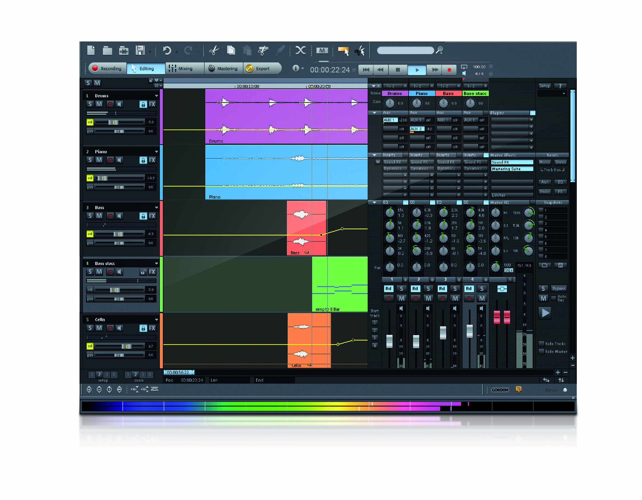 Samplitude 11.5 Producer [Download] by MAGIX (Image #1)