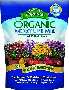 Espoma ESPMM8 Organic Moisture Mix Potting Soil, 8 Quart