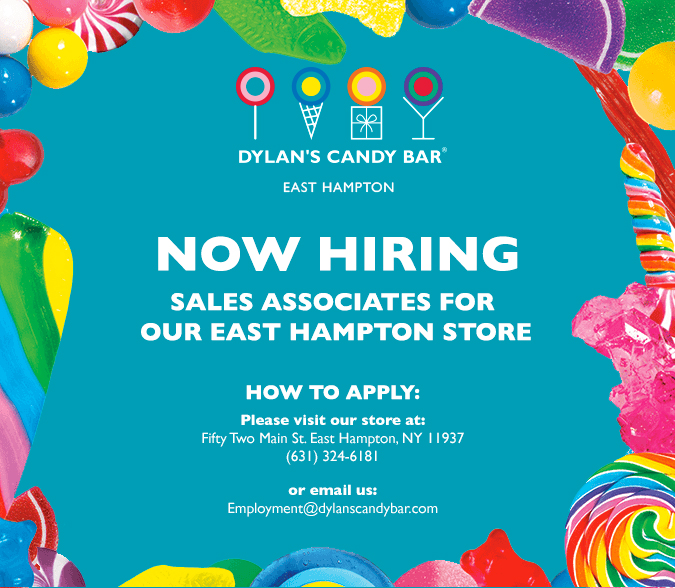 Dylan's Candy Bar East Hampton Now Hiring