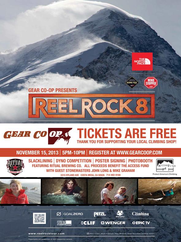 Reel Rock 8 Orange County