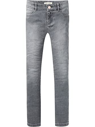 Scotch&Soda R′Belle la Milou-Grey Memory, Jeans Fille, (Grey Memory 2475), 125 (Taille Fabricant: 5)