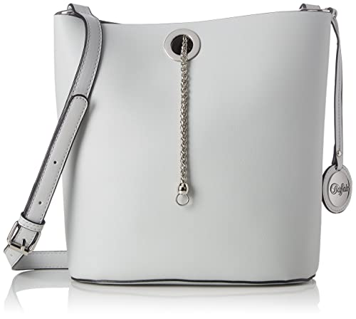 188615, Womens Cross-Body Bag, Grey (Grey 17), 14x24x22 cm (B x H T) Buffalo