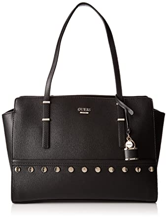 Damen Hwvs6421100 Shopper, Schwarz (Nero), 12.5x27x42.5 cm Guess