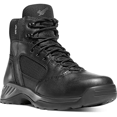 "Danner Men's Kinetic Side-Zip 8"" GTX Boot & Knit Cap Bundle"