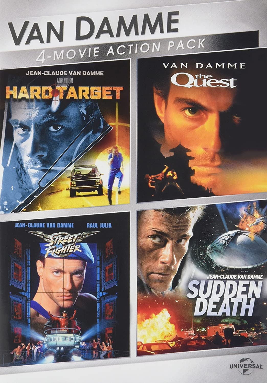 : Van Damme 4 Movie Action Pack: Hard Target The