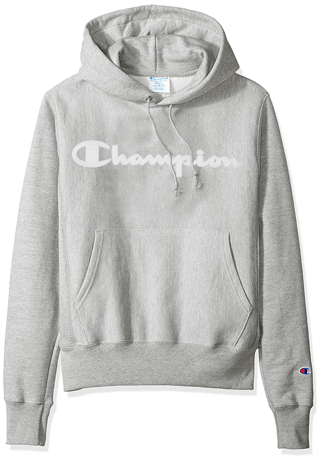 Weave Champion Life Reverse Pullover HoodiegreyLarge Men's XukTZPOi