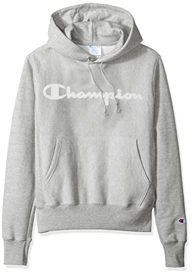 Champion LIFE Men's Reverse Weave Pullover Hoodie (Grey