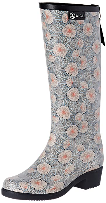 Aigle Women's Miss Juliette Print 847064 Rain Boots Manchester Great Sale Cheap Online For Sale Cheap Online Outlet Big Sale DImpOndwP