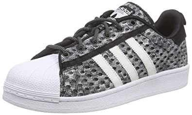 adidas - Superstar GID - F37672 - Color: Grey-Black-White - Size