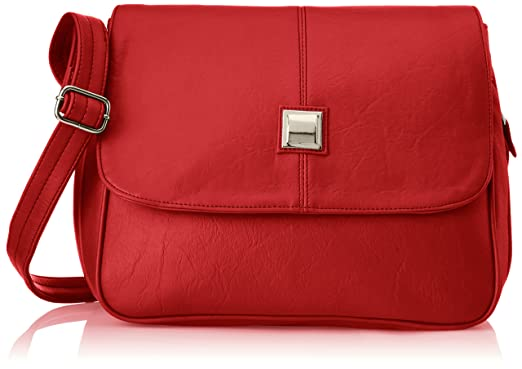 Fostelo Women's Sling Bag (Red) (Fsb-307): Amazon.in: Clothing ...