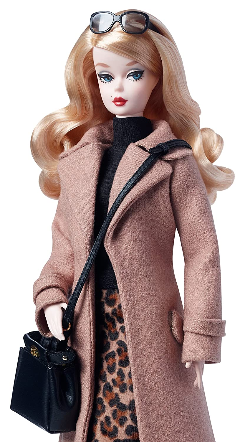 Barbie Mattel Collector Best Fashion Model Trench Dgw54