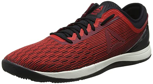 Reebok R Crossfit Nano 8.0, Zapatillas para Hombre, Multicolor (Primal Red/Urban Maroon/Chalk/Black Cm9169), 44.5 EU