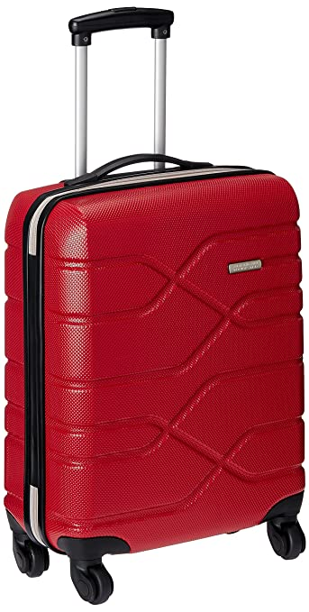 American Tourister Houston City Polycarbonate Red Suitcase (R98 (0 ...