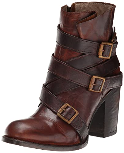 Freebird Women's Hustle Boot, Cognac/Multi, ...