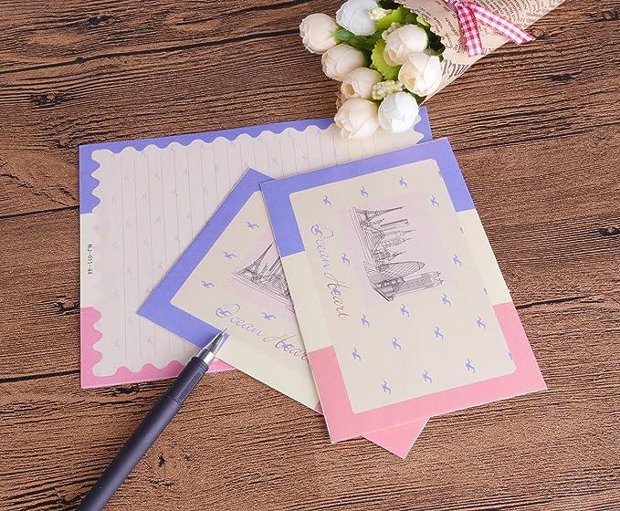 Amazon.com: SCStyle 32 Cute Lovely Kawaii papel de carta con ...