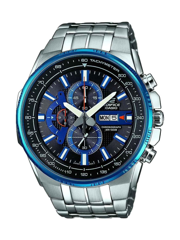 Casio Herren-Armbanduhr Edifice Analog Quarz Edelstahl EFR-549D-1A2VUEF