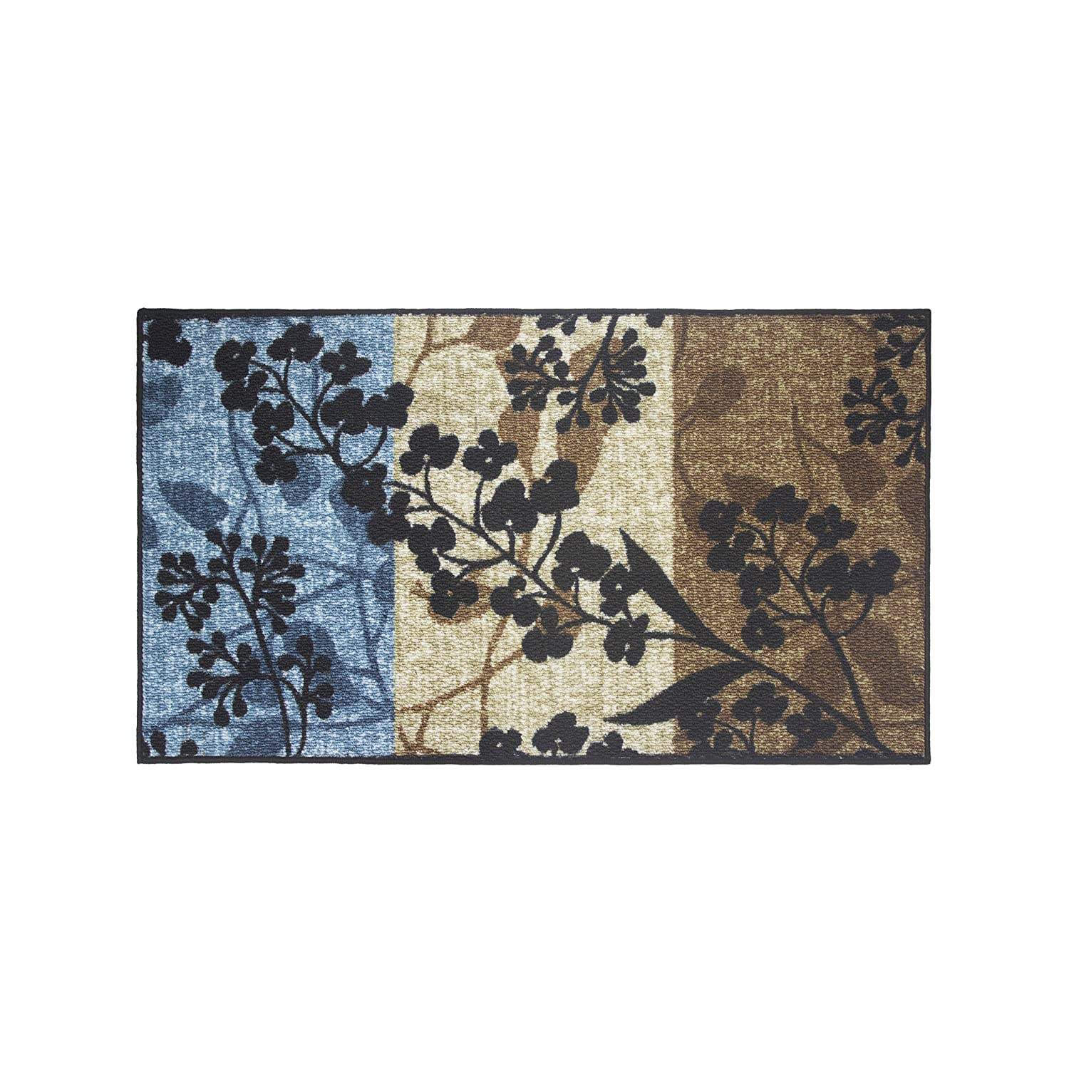 Modern Living Tulips Decorative Area Accent Rug, 18 by 30-Inch Creative Home Ideas ECA0017456
