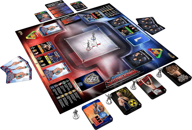 WWE Superestrella Showdown The Juego De Mesa: Amazon.es: Juguetes y juegos