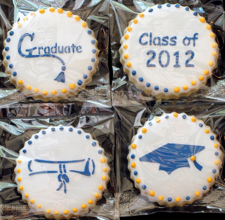 Graduation Graduate Stencils x 5 Cookie Cupcake Cake Decorating Icing