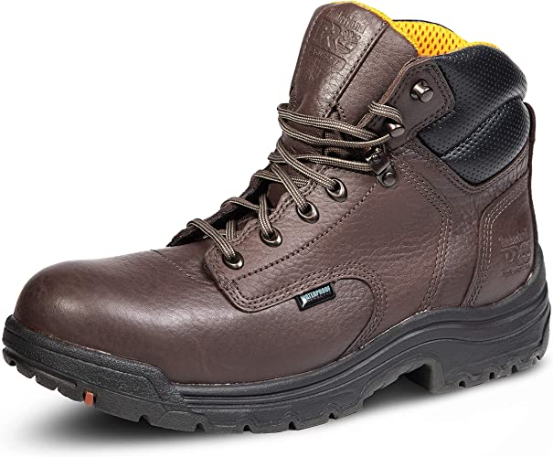 Timberland Pro Titan 6 WP Safety Toe Leather Work Boot Mens