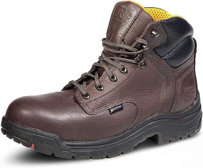 "Timberland PRO Men's 26078 Titan 6"" Waterproof Safety-Toe Work Boot Industrial"