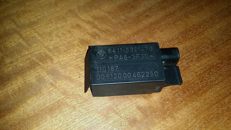 8391470 BMW 3 5 7 Series Genuine Auxiliary Fan Sensor Relay