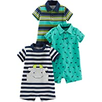 4f60f72e3566 Amazon Best Sellers  Best Baby Boys  One-Piece Rompers