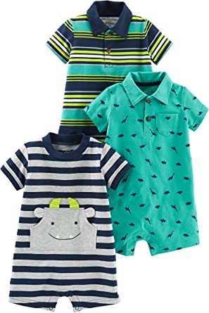 18 Months Carters Baby Boys 2 Pack Shorts-Turquoise//Navy