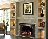 Pleasant Hearth FN-5702 Fenwick Fireplace Glass