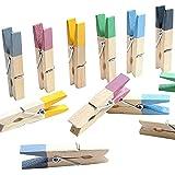 LeTOMA - 12 Bunte Neodym Magnete - Magnet Clips für Kühlschrank, Whiteboard, Magnettafel, Pinwand, Magnetwand - Farbige Magnetklammern Blau, Gelb, Grau, Grün, Lila, Schwarz