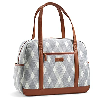 ae434408fdc Amazon.com: Fit & Fresh Carry On Travel Bag for Women, Large ...