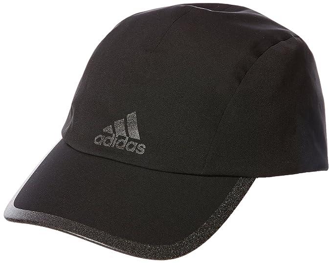 e7cb0e40b8e Adidas Men s Climaproof Running Cap - Black Black Black Reflective ...