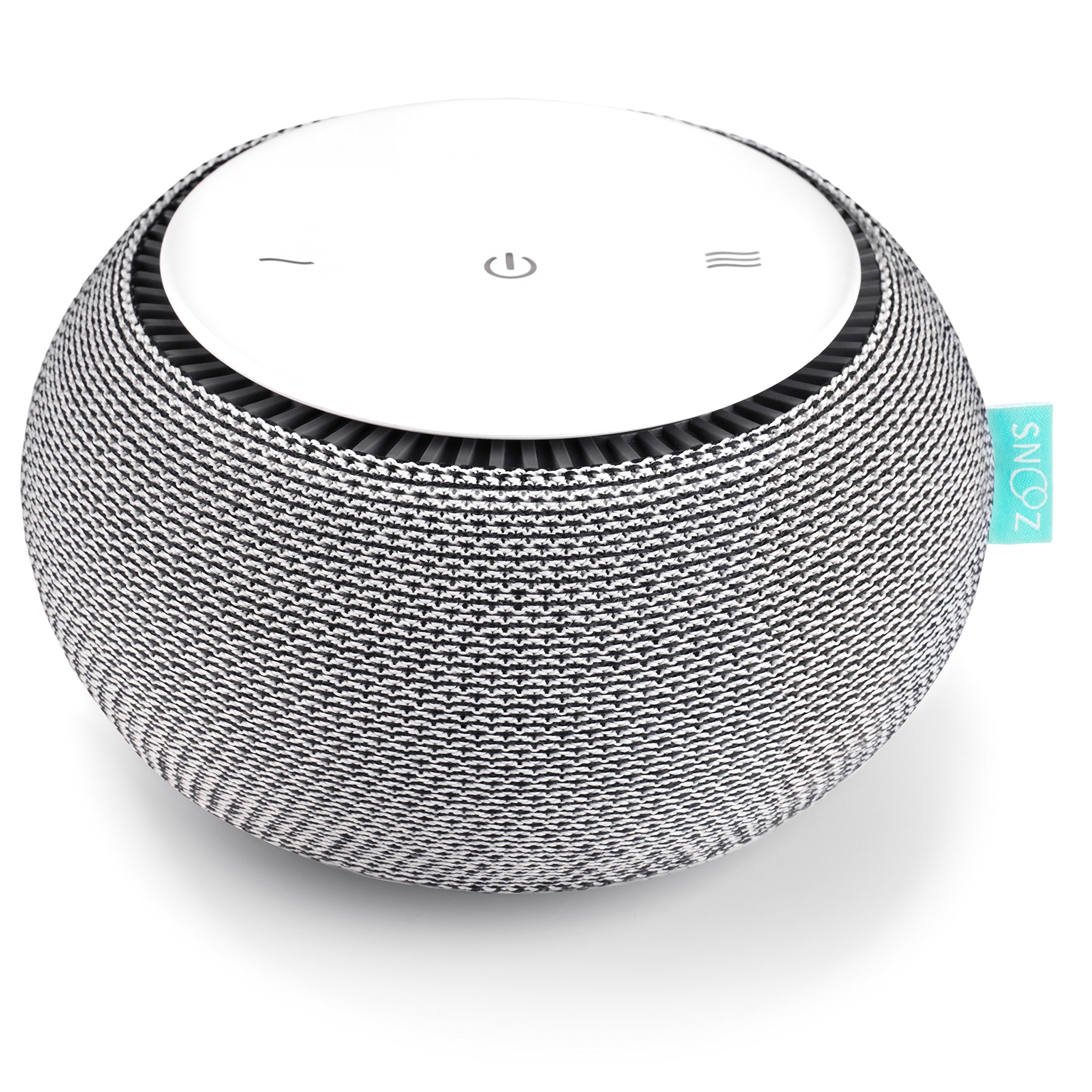 SNOOZ White Noise Sound Machine - Real Fan Inside, Control via iOS and Android App - Cloud
