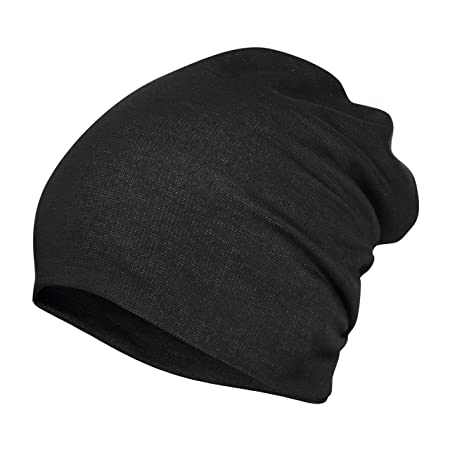 c788dfd8d FabSeasons Cotton Slouchy Beanie and Skull Cap for Summer, Winter, Autumn &  Spring Season, Can be Used as a Helmet Cap Too