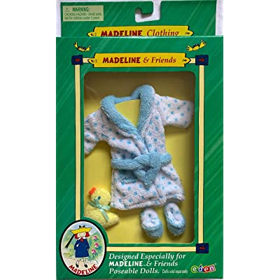 "Madeline & Friends Splish Spash Robe Set for 8"" Poseable Dolls: Toys & Games"