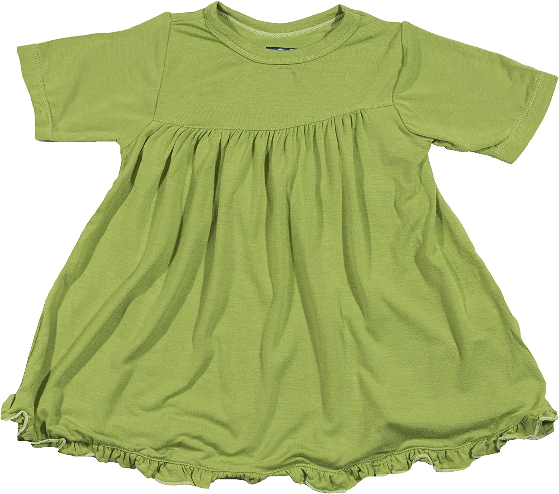 KicKee Pants Print Classic Short Sleeve Swing Dress