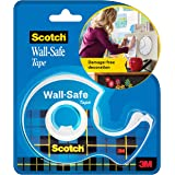Scotch Wall Safe Tape - for Damage Free mounting and décor by 3M (Width 1.9m Length 16.5m, up to 14g)