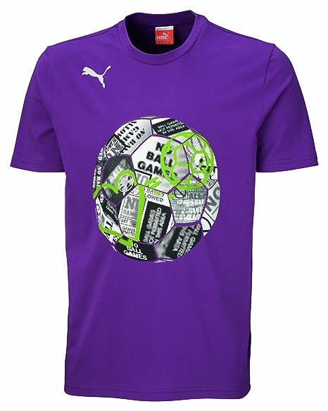 Puma – Camiseta de fútbol americano Sign Collage Graphic té, primavera/verano, color