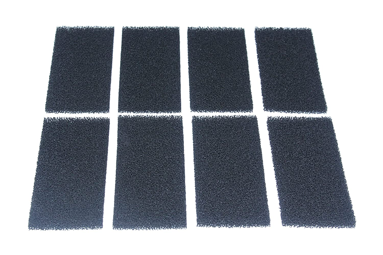 INGVIEE Pack of 12 Compatible Carbon Foam Filter Sponges Replacement for Fluval U2 Aquarium Filter