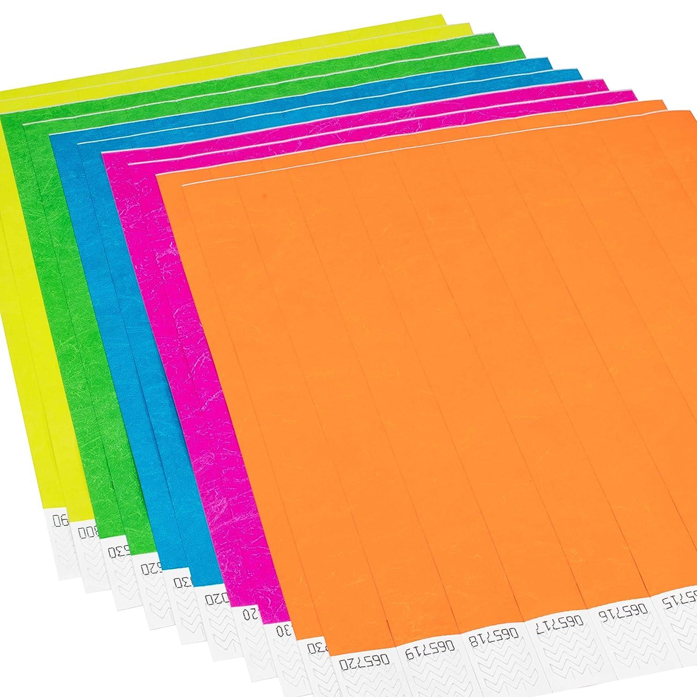 Confezione da 1.000 Braccialetti di identificazione Tyvek/® 19 mm linie zwo/® Giallo